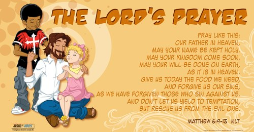 The Lords Prayer With Children