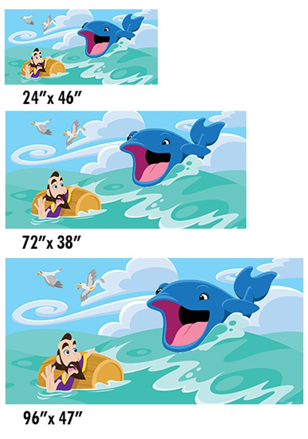 Jonah And The Whale Creative For Kids