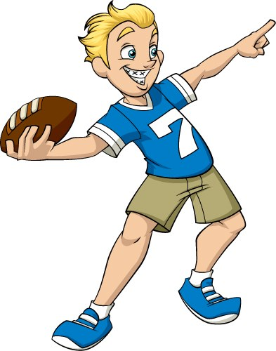 throwing a football The football toss is a traditional carnival game that is enjoyed by children and a great game idea to add to your carnival  children are given 3 chances to throw .