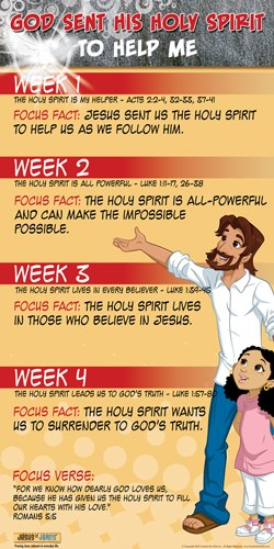Holy Spirit To Me Poster Month Creative Kids Sent 1 God Qtr His For Help